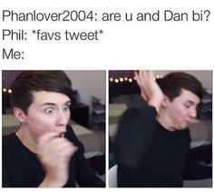 I don't like when people ask them questions like this, but the photos of Dan are pretty funny XD