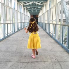 Yellow Wendy Bow