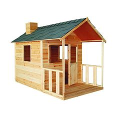 Childrens Playhouse Plans 502784745901480551 - Children's Wooden Playhouse – GrabOne Store Mobile Source by ahalevisoso Childrens Wooden Playhouse, Wooden Playhouse Kits, Kids Playhouse Plans, Build A Playhouse, Playhouse Outdoor, Backyard Treehouse, Outdoor Toys, Cubby House Plans, Cubby Houses