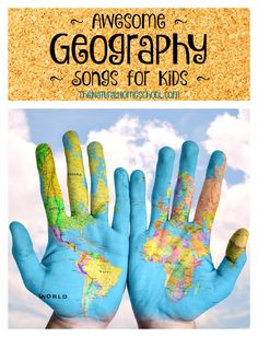 This is an awesome set of Geography songs for kids. It is amazing how much children will learn and memorized if put into song.