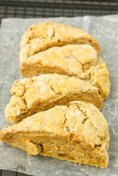 Easiest Pumpkin Scones are full of fall flavors, This recipe makes soft fluffy scones with crispy edges.