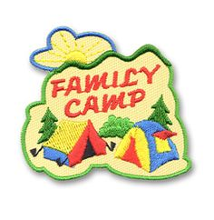 AHG Activity Patches: Family Camp Patch