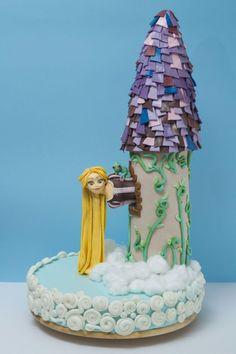 Rapunzel, let down your hair Cake