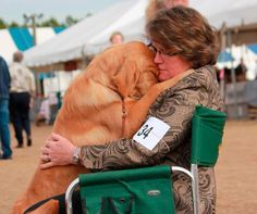 The amazing bond between human and dog