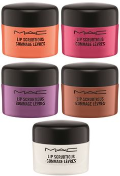 MAC Lip Scrubtious Lip Scrubs Launch Tomorrow and You Need Them! – Musings of a Muse - MAC Lipscrubtious Lip Scrubs - Lip Scrub Homemade, Diy Scrub, Spf Lip Balm, Makeup At Home, Exfoliating Face Scrub, Mac Lips, Peeling, Lip Care, Bath And Body