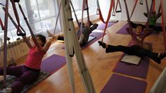 Yoga Terapia :Free Gravity Pilates… Gimnasia Restaurativa. Certificado España by yogacreativo, via Flickr