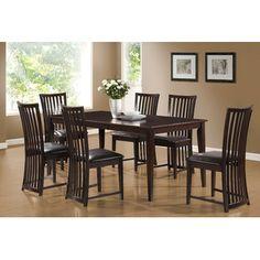 Monarch Specialties Inc. Contemporary Dining Table