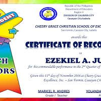 Image result for quarterly award certificate template Sample Certificate Of Recognition, Recognition Awards, Grace Christian, Christian School, Award Certificates, Certificate Templates, Image, Award Display