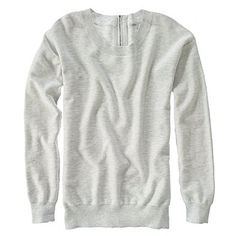 Gray sweater. Perfect for my bright skinnys in the fall
