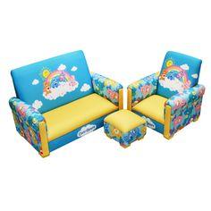 Care Bears Sofa, Chair and Ottoman Set
