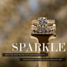 Make Jewelry Sparkle Photoshop Actions Photoshop Actions For Photographers, Ring Shots, Ring Stand, Great Women, Photography Business, Heart Ring, Sparkle, Jewelry Making, Gems