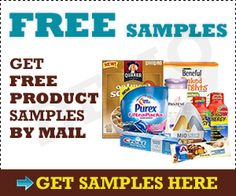 Freebies Frenzy - get free product samples in the mail! #free #frugal