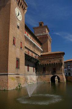 Castello Estense - Ferrara, Emilia-Romagna, Italy