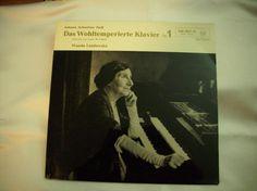 415) LP: Bach Das wohltemperierte Klavier, Preis 10€