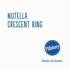 Roll cut and twist Nutella hazelnut spread-filled crescents into a decadent treat thats surprisingly easy to make. Christmas Desserts, Christmas Treats, Christmas Baking, Holiday Treats, Holiday Recipes, Holiday Cookies, Holiday Baking, Yummy Treats, Delicious Desserts