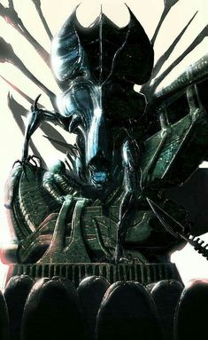 Alien Ripley, Alien Origin, Bug Hunt, Predator Alien, Hr Giger, Alien Creatures, Alien Art, Thrillers, Spawn