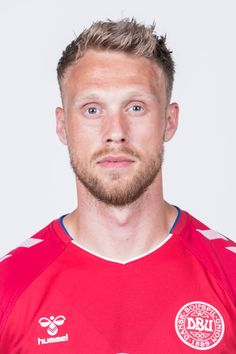 Nicolai Joergensen of Denmark poses during official FIFA World Cup 2018 portrait session on June 12 2018 in Anapa Russia Fifa World Cup 2018, Red Guy, National Football Teams, Garra, Poses, Danish, June, Sporty, Portrait