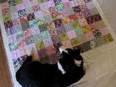 ahhhh, gaa-gaa, love the colors in this quilt. yummmmmmmy!!!!