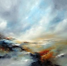 "Saatchi Online Artist: Alison Johnson; Oil, Painting ""Raw and Wild"""