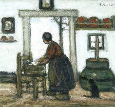 Jakob Smits, Belgium  -   The Laundress.  1927