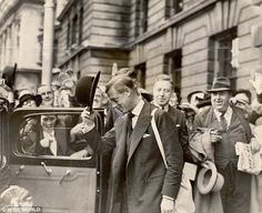 Despite concerns, the Duke of Windsor made trips to the War Office, pictured, during the c...