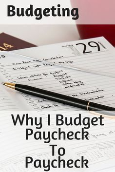 Welcome to my world! I am a paycheck to paycheck budgeter. I am a true believer in zero-based budgeting. In fact, I believe it is one of the main reasons I was able to take control of my financial beast. If most or all of your income is entirely focused on your paychecks, shouldn't your expenses also be focused on your paychecks too?