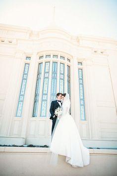 Payson Utah Temple Wedding Carolann Austin Photographer