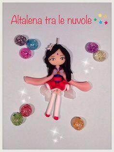 Sailor Princess Mulan.. #mybestfimo #polymerclay #lovehandmade