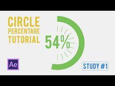 Study #1 Infographics - Animated Circle Percentage - YouTube