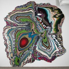 orientaltiger:    Pour Paintings by Holton Rower