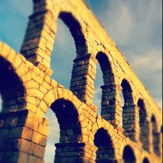 The Roman Aqueduct of Segovia The Places Youll Go, Places Ive Been, Places To Visit, Places In Spain, Romanesque, 12th Century, Travel List, World Heritage Sites, Cathedral