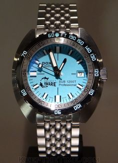 So you love your Doxa SUB, or you picked up a Doxa Aquaman from KeepTheTime to hold you over until you can get a SUB on your wrist. But what about all those other Doxa models that are mysteriously non-existent in the United States? Modern Watches, Stylish Watches, Luxury Watches, Cool Watches, Unique Watches, Dream Watches, Elegant Watches, Vintage Watches, Fossil Watches