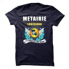 Metairie LA - #teacher shirt #tshirt template. CHECK PRICE => https://www.sunfrog.com/LifeStyle/Metairie-LA.html?68278