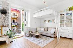 Jak urządzić małe mieszkanie, urządzanie wnętrz, rozwiązania do małych mieszkań i kawalerek, aranżacja małego metrażu, blog wnętrzarski.
