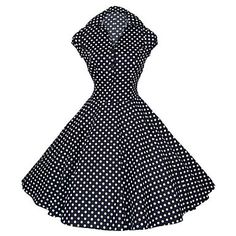 Meet You at the Ice Cream Shop Dress  This sweet dress is the most looked at dress on the site - who doesn't love a vintage-inspired, polka dot dress?  #addysdress