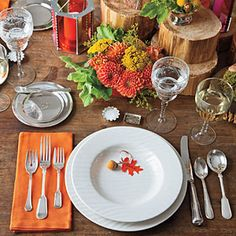 How To Set a Stunning Table | Balance an Elaborate Centerpiece with Basic China | SouthernLiving.com