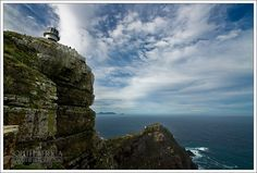 South Africa - Cape Point - Old lighthouse Table Mountain, Getting Up Early, Double Exposure, Far Away, Lighthouses, Continents, The Rock, South Africa, Cape
