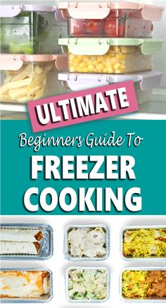 Freezer Meals - If cooking every night leaves you frazzled after a long day's work then you need to try freezer cooking. How nice would it be to get home and not have to wonder what's for dinner? Instead, you'd have a freezer full of easy make-ahead freezer meals that you can dump into your crockpot or instant pot, or a casserole ready for the oven. This guide will help you get started with my best tips and ideas to get food on the table fast whether you are cooking for two or a large… Make Ahead Freezer Meals, Freezer Cooking, Frugal Meals, Cheap Meals, Quick Easy Meals, Easy Chicken Recipes, Quick Recipes, Easy Healthy Recipes, Easy Dinner Recipes