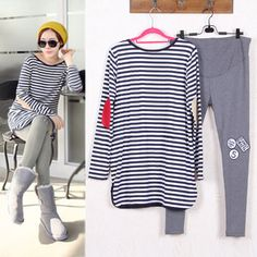 # Lowest Price Maternity Suits Pregnant Striped Shirt + Leggings/Pants Long Sleeved T-shirt Set for Women Clothing Spring/Autumn/Winter [Vju5HBlo] Black Friday Maternity Suits Pregnant Striped Shirt + Leggings/Pants Long Sleeved T-shirt Set for Women Clothing Spring/Autumn/Winter [hJ5QGvy] Cyber Monday [eEWGon]