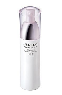 Shiseido 'White Lucent' Brightening Protective Emulsion SPF 15 available at #Nordstrom