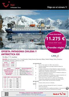 ¡Grandes viajes! Oferta Patagonia Chilena y Antárctica XXI - http://zocotours.com/grandes-viajes-oferta-patagonia-chilena-y-antarctica-xxi-9/