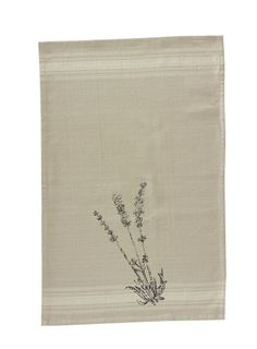 Botanical Printed Dishtowel