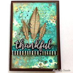 Simon Says: Thanks/Thanksgiving - Simon Monday Challenge Blog