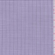 Lavender Stripe Suiting - 32988 - Fabric By The Yard At Discount Prices