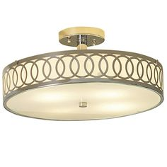Shop allen + roth Polished Chrome Flush Mount at Lowe's Canada. Find our selection of semi flush ceiling lights at the lowest price guaranteed with price match + off. Semi Flush Ceiling Lights, Flush Mount Ceiling, Flush Mount Lighting, Foyer Lighting, Retro Lighting, Lighting Ideas, Ceiling Lighting, Allen Roth Lighting, Best Kitchen Lighting