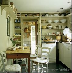 Nice small kitchen with ample room for eating