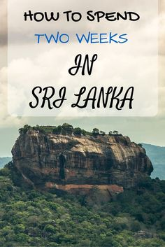 Detailed itinerary and Ideas for spending two weeks in Sri Lanka as well as resources and tips for getting the most out of your trip, from getting around through to where to stay and what to see!