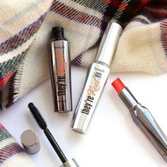 Lengthened lashes & luscious lips. We love this they're Real! trio for achieving ultimate drama!