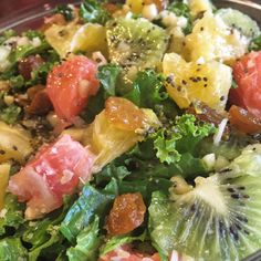 The kale and citrus fruits in this salad are incredible sources of the antioxidants vitamin A and C, which are both important for eye health.