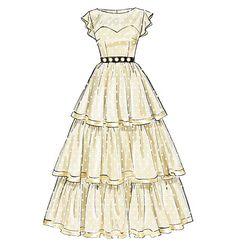M6646 Misses'/Women's Dresses